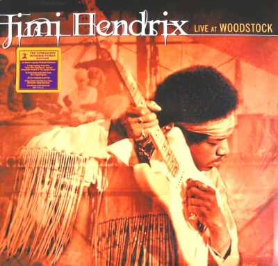 Jimi Hendrix ‎– Live At Woodstock (3xLP)
