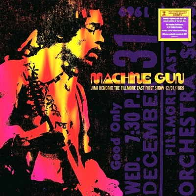 Jimi Hendrix ‎– Machine Gun: The Fillmore East First Show 12/31/1969 (2xLP)