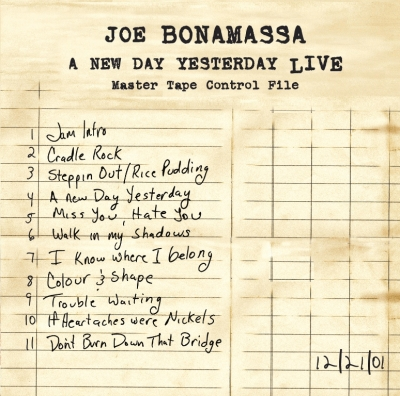 Joe Bonamassa ‎– A New Day Yesterday Live (2xLP)