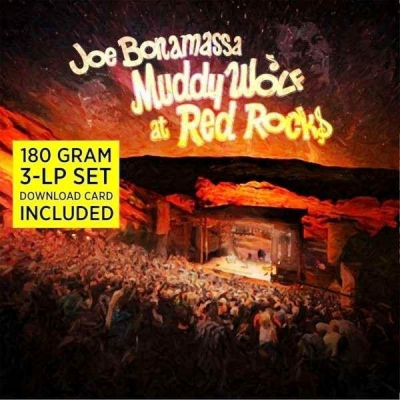 Joe Bonamassa ‎– Muddy Wolf At Red Rocks (3xLP)