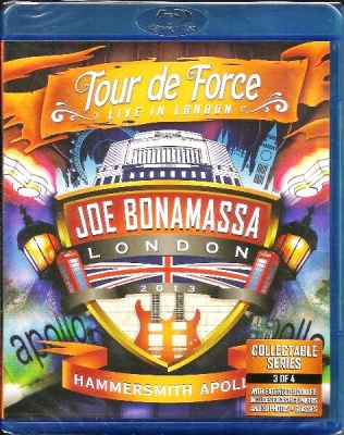 Joe Bonamassa ‎– Tour De Force - Live In London - Hammersmith Apollo
