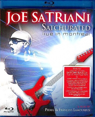 Joe Satriani ‎– Satchurated: Live In Montreal