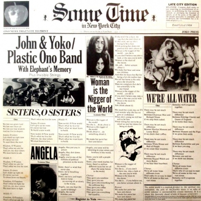 John & Yoko / Plastic Ono Band With Elephant's Memory And Invisible Strings ‎– Some Time In New York City (2xLP)