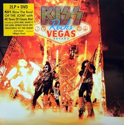 Kiss ‎– Kiss Rocks Vegas (2xLP+DVD)