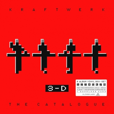 Kraftwerk ‎– 3-D - The Catalogue (9xLP)