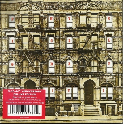 Led Zeppelin ‎– Physical Graffiti (3xCD) (Deluxe Edition)