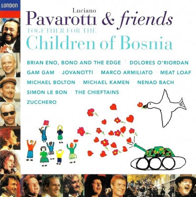 Luciano Pavarotti ‎– For The Children Of Bosnia