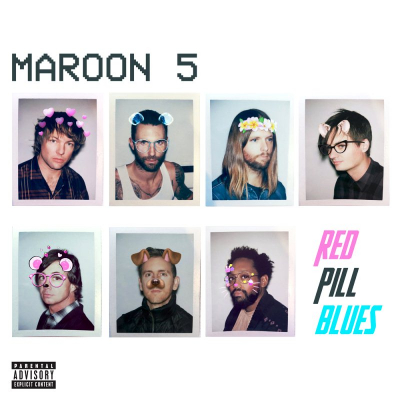 Maroon 5 ‎– Red Pill Blues (2xLP, Цветная Пластинка)