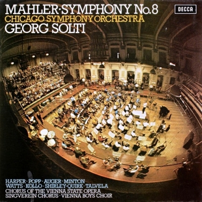 Mahler, Georg Solti, Chicago Symphony Orchestra ‎– Symphony No. 8 (2xLP)