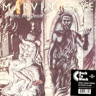 Marvin Gaye ‎– Here, My Dear (2xLP)