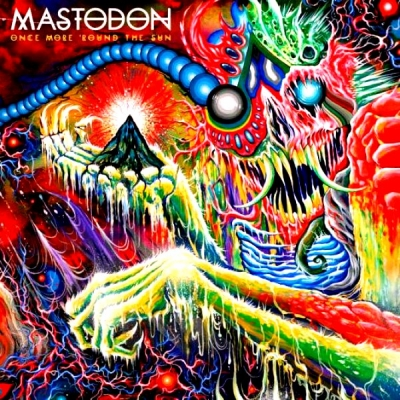 Mastodon ‎– Once More 'Round The Sun (2xLP, Green/White Marbled)