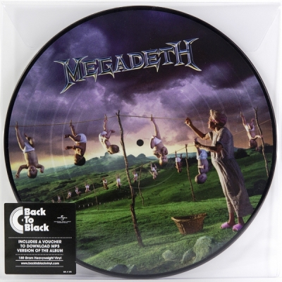 Megadeth ‎– Youthanasia (Picture Disc)