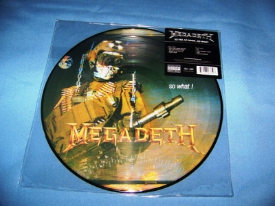 Megadeth ‎– So Far, So Good... So What! (Picture Disc)