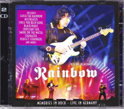 Ritchie Blackmore's Rainbow ‎– Memories In Rock - Live In Germany (2xCD)