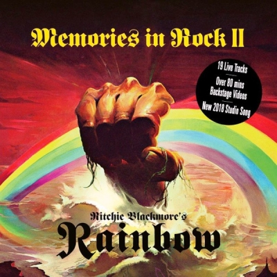 Ritchie Blackmore's Rainbow ‎– Memories In Rock II (2xCD+DVD)