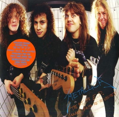 Metallica ‎– The $5.98 E.P. - Garage Days Re-Revisited (Orange)