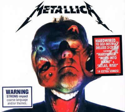 Metallica ‎– Hardwired...To Self-Destruct (3xCD) (Deluxe Edition) (Упаковка Digipack)