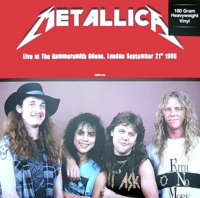 Metallica ‎– Live At Hammersmith Odeon, London. September 21th 1986