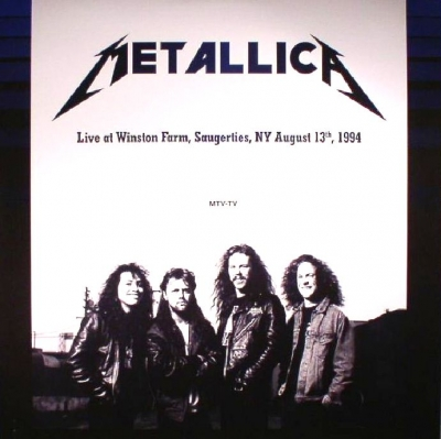 Metallica ‎– Live at Winston Farm, Saugerties, NY August 13th, 1994 (2xLP)