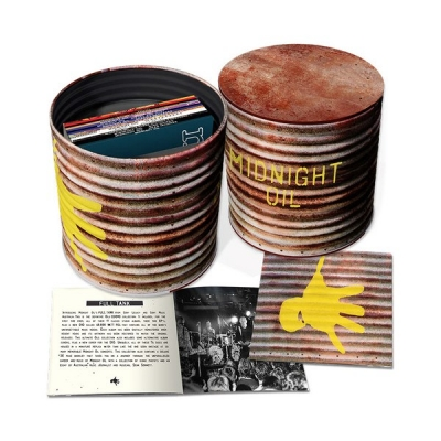 Midnight Oil ‎– Full Tank (11xCD, 11xEP+DVD Box Set)