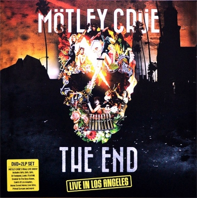 Motley Crue ‎– The End - Live In Los Angeles (2xLP, DVD)