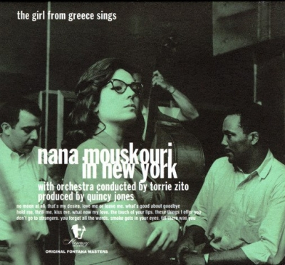 Nana Mouskouri ‎– Nana Mouskouri In New York - The Girl From Greece Sings