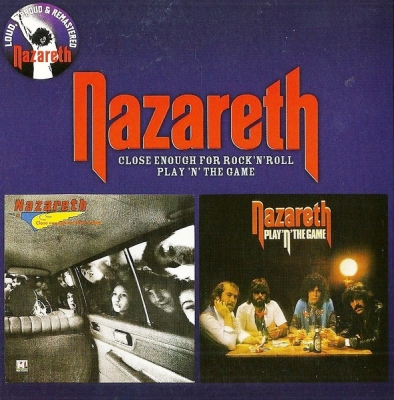 Nazareth ‎– Close Enough For Rock 'N' Roll / Play 'N' The Game