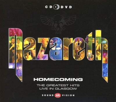 Nazareth  ‎– Homecoming - The Greatest Hits Live In Glasgow (CD+DVD)