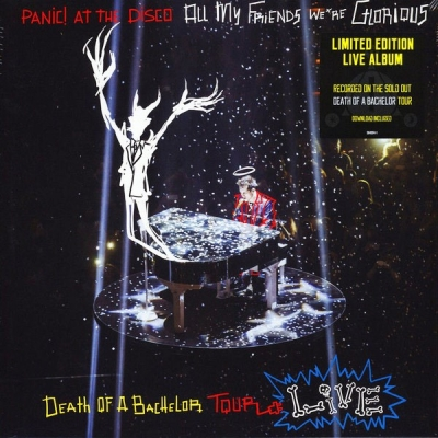Panic! At The Disco ‎– All My Friends We're Glorious: Death Of A Bachelor Tour Live (2xLP)