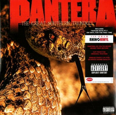 Pantera ‎– The Great Southern Trendkill (2xLP)