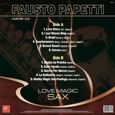 Fausto Papetti - Love Magic Sax