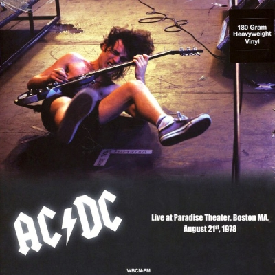 AC/DC ‎– Paradise Theater Boston MA, August 21st 1978