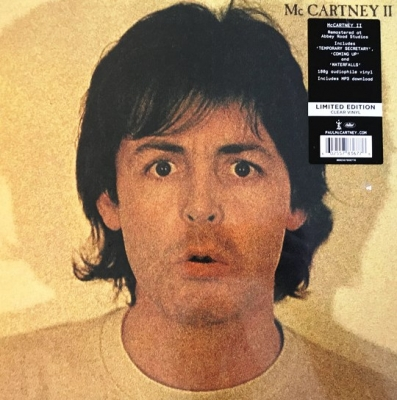 Paul McCartney ‎– McCartney II (Цветной Винил, Clear)