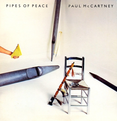 Paul McCartney ‎– Pipes Of Peace (Цветной Винил, Silver)