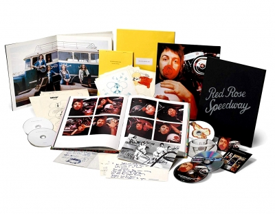 Paul McCartney And Wings - Red Rose Speedway (3xCD+DVD+Blu-ray, Limited Edition)