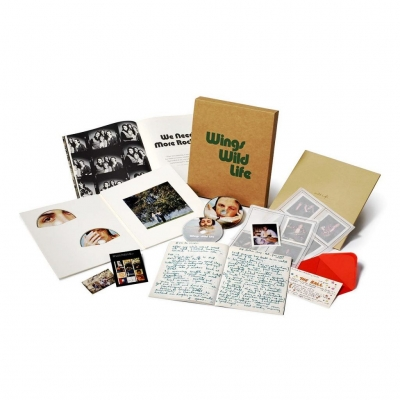 Paul McCartney And Wings – Wild Life (Deluxe 3CD + 1DVD)