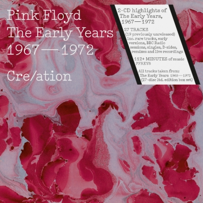Pink Floyd ‎– Cre/ation - The Early Years 1967 - 1972 (2xCD)