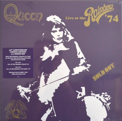 Queen ‎– Live At The Rainbow '74 (4xLP)