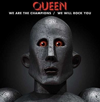 Queen ‎– We Are The Champions / We Will Rock You (Vinyl, 12