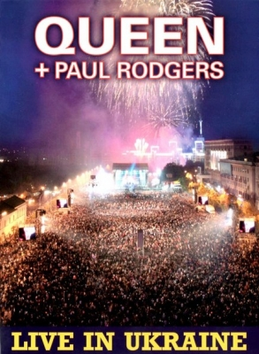 Queen + Paul Rodgers ‎– Live In Ukraine (2xCD+DVD)