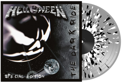 Helloween ‎– The Dark Ride (2xLP, Special Edition, clear/black-white splattered vinyl)