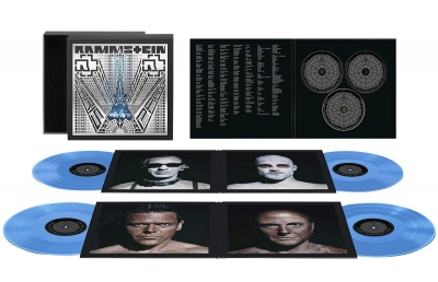 Rammstein ‎– Paris (4×LP, Blue,180gr,  2×CD, Blu-ray)