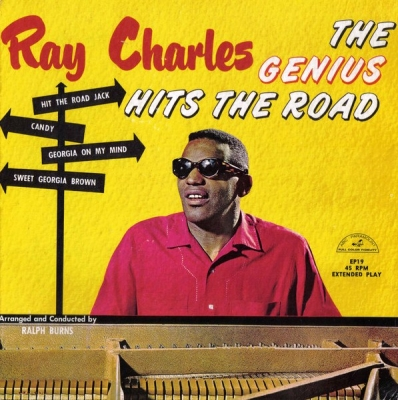 Ray Charles ‎– The Genius Hits The Road