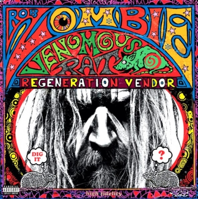 Rob Zombie ‎– Venomous Rat Regeneration Vendor