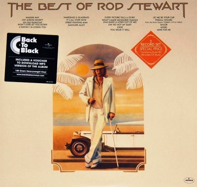 Rod Stewart ‎– The Best Of Rod Stewart (2xLP)