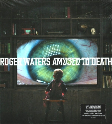 Roger Waters ‎– Amused To Death (CD, Blu-ray Audio)