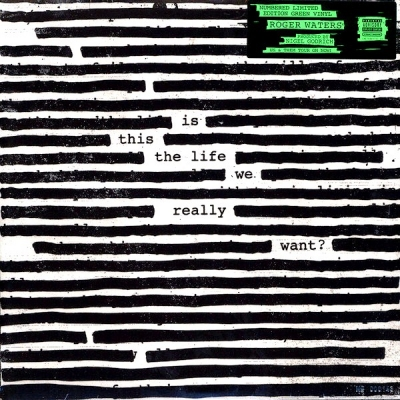 Roger Waters ‎– Is This The Life We Really Want? (2xLPLimited Edition, Numbered, Reissue, Green)