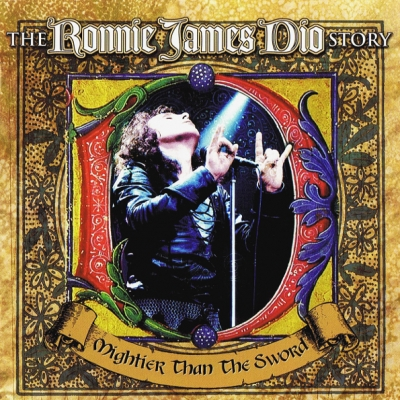 Ronnie James Dio ‎– The Ronnie James Dio Story: Mightier Than The Sword (2xCD)