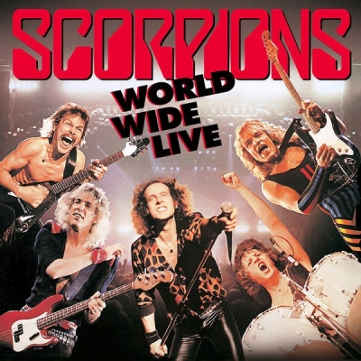 Scorpions ‎– World Wide Lives (2xLP, CD) (Deluxe Edition)