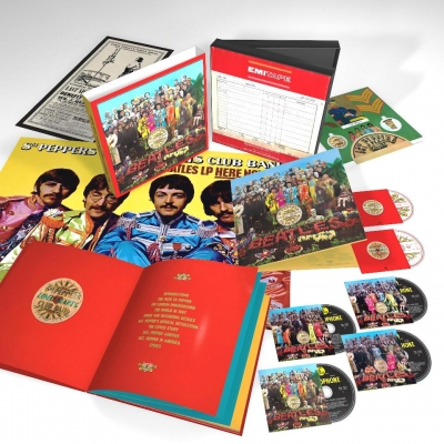 The Beatles ‎– Sgt. Pepper's Lonely Hearts Club Band (4xCD, DVD, Blu-ray) (Box Set Deluxe Edition)
